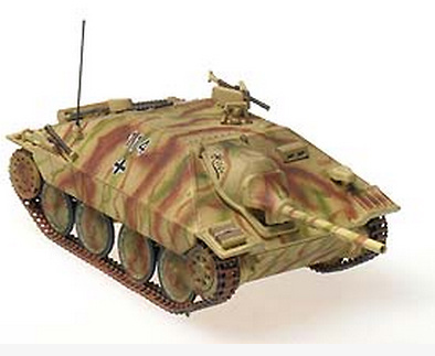 "Hetzer (early) ""Hilde"" unidentified unit, Nove Mesto, Czechia, April 1945, 1:72, Panzerstahl"