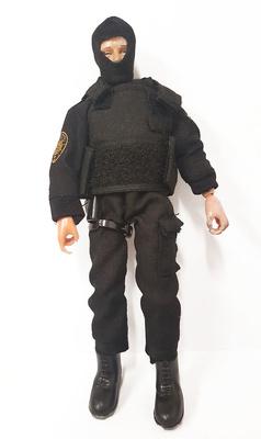 Hombre con chaleco antibalas Madelman Super Equipo Cuerpo Secreto