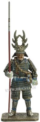 Honda Tadakatsu, 1548-1610, Samurai, 1:30, Del Prado