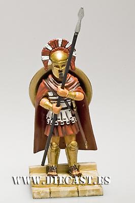 Hoplita Espartano S. V aC, 1:32, Altaya