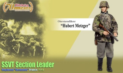 """Hubert Metzger"" SSVT Section Leader, Regiment ""Germania"", Francia, 1940, 1:6, Dragon Figures"