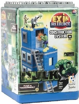 Hulk vs Thunderbolt, Exin Blocks
