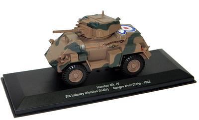 Humber Mk.IV, 8th Inf. Div (India), río Sangro, Italia, 1944, 1:43, Atlas