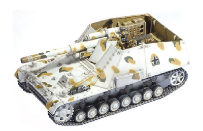Hummel Early 19pz. Division, 1:72, Dragon Armor