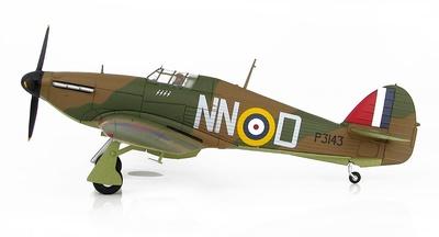 Hurricane Mk.I, P3143, Sgt. B. Fürst, 310. (Czech) Sqn., Duxford, Septiembre, 1940, 1:48, Hobby Master