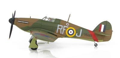 "Hurricane Mk.I V6665, 303 ""Polish"" Squadron, piloto John ""Kentski"" Kent, Northolt, Septiembre, 1940, 1:48, Hobby Master"