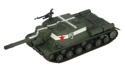 ISU-152  Caza Tanques, Brigada Soviética de Asalto, Berlín, 1945, 1:72, Hobby Master