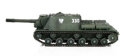 ISU-152  Caza Tanques, Ejército del Pueblo Polaco, 13º Regimiento de Artillería de Autopropulados, Varsovia, 1945, 1:72, Hobby Master