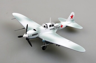 "Ilyushin IL-2, ""Red 8"", 1942, 1:72, Easy Model"