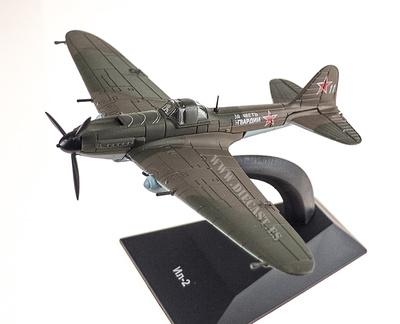 Ilyushin IL-2, World War 2, 1: 120, DeAgostini