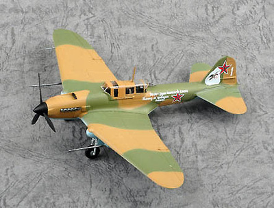 Ilyushin IL-2M3, White 1, 1:72, Easy Model