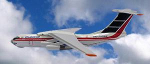 Ilyushin IL-76 Cubana, 1:500, Witty Wings