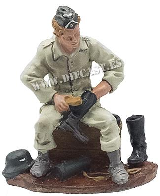 Infante alemán con uniforme de faena, 1940, 1:30, Hobby & Work