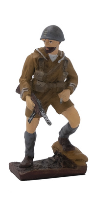 Infante de Marina, Batallón San Marco, Tobruk, 1941, 1:32, Leo Models