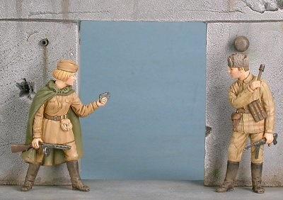 Infantería Soviética, Estalingrado, 1942-43, 1:48, Gasoline