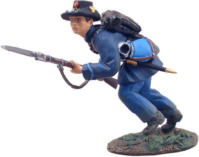 Infantería de la Unión,  carga de la Brigada de Hierro, 1:32, William Britains