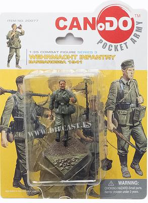 Infantería de la Wehrmacht, Operación Barbarrosa, 1941, 1:35, Can.Do