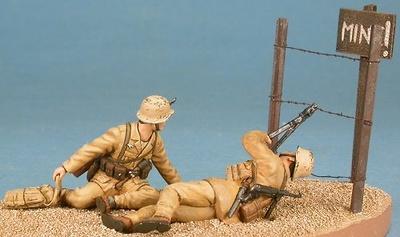 Infantería del Afrika Korps, 1:48, Gasoline
