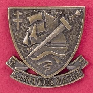 Insignia de Comandos de la Maina Francesa