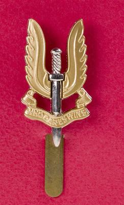 Insignia de las Fuerzas Especiales del Ejército Inglés