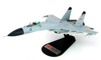 J-11BH Blue 24, (Sukhoi SU-27 Flanker), China, 2014, 1:72, Hobby Master