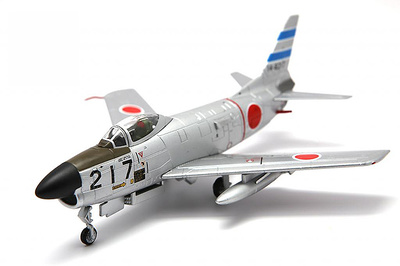 JASDF F-86D, Sabre Dog # 217, 103rd Sqn 2nd AW, 1:72, Falcon Models