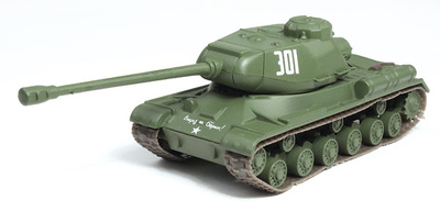 JS-2, tanque soviético, 1:72, DeAgostini