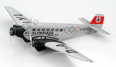 JU 52/3M ge D-ALYL XI. Olympiade, Berlin 1936, 1:144, Hobby Master