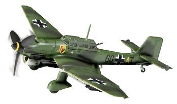 JU 87B-2 ST. G51, Francia, 1940, 1:72, Forces of Valor