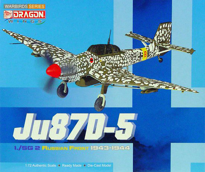 JU87D-5 1./SG-2 'Immelmann' Russian Front, 1943-44, 1:72, Dragon Wings