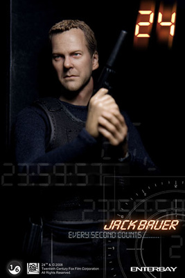 Jack Bauer, the CTU Agent, 24 Hours, 1:6, Enterbay
