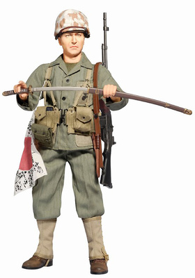 Jack Hanlon (Private), USMC Squad Gunner, Iwo Jima 1945, 1:6, Dragon Figures