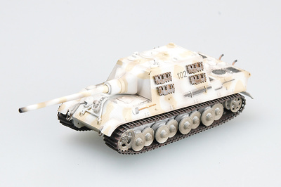 Jagd Tiger (Porsche) S.Pz.Jag.Abt.653, Tank 102, 1:72, Easy Model