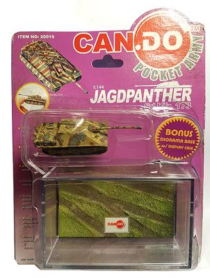 Jagdpanther Sd.Kfz.173, último esquema de camuflaje, Primavera, 1945, 1:144, Can.Do