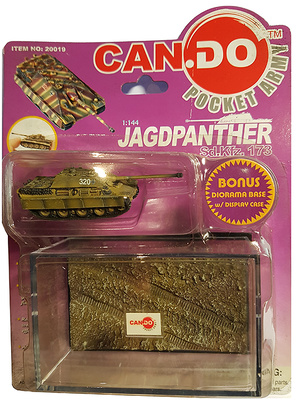 Jagdpanther Sd.Kfz.173,Panzer Lehr Division, Hungría, Primavera, 1945, 1:144, Can.Do