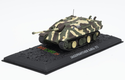 Jagdpanther SdKfz 173, Alemania, 1944/45, 1:72, Atlas Editions