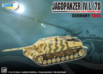 Jagdpanzer IV, L/70, Late Production, Germany, 1945, 1:72, Dragon Armor