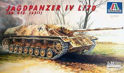Jagdpanzer IV, L/70, Sd. Kfz. 162/1, 1:35, Italeri
