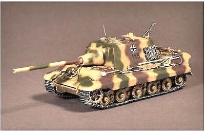 Jagdtiger Ausf.B 'Sd.Kfz. 186' torreta Henschel, Alemania, 1945, 1:72, War Master