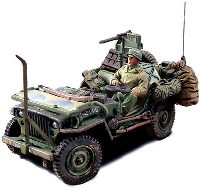 Jeep® Willys®,  Normandy, 1944, 1:32, Forces of Valor