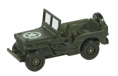 Jeep (sin remolque), D-Day, 1:50, Solido