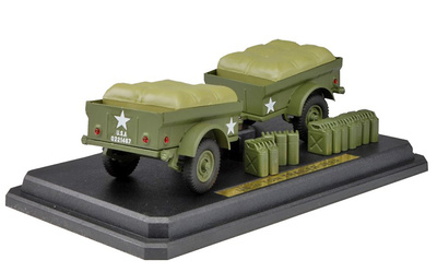 Jeep 1/4 Ton Trailer, U.S. Army, 1:24, Kaden