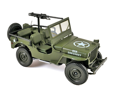 Jeep Army, 1942, 1:18, Norev