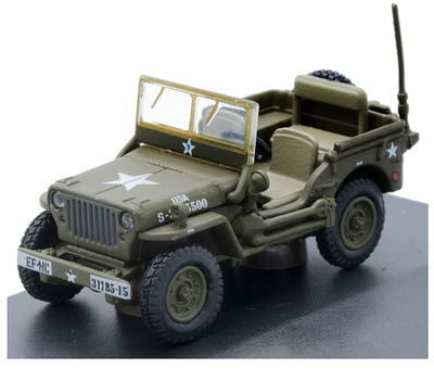 Jeep Willy MB, US Army, 1:76, Oxford