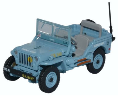 Jeep Willy MB, US Navy Seabees, 1:76, Oxford