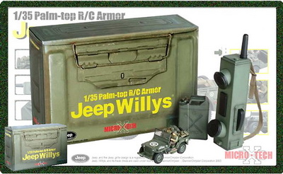 Jeep Willys, Palm Top, Radio Control, 1:35, Dragon Armor