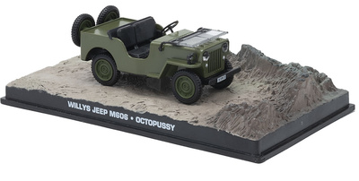"Jeep Willys M606 ""Octopussy"", 1:43, Eaglemoss"