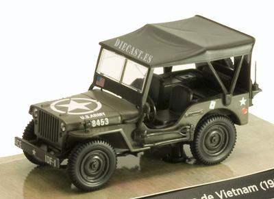 Jeep Willys MB, Guerra de Vietnam, 1:43, Norev