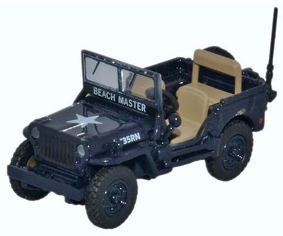 Jeep Willys MB, Royal Navy, 1945, 1:76, Oxford