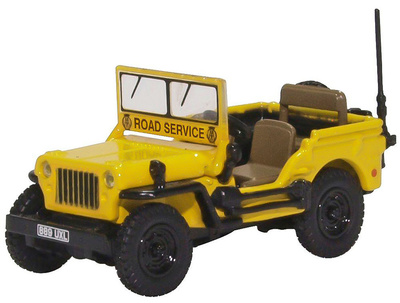 "Jeep Willys MB AA ""Road Service"", 1:76, Oxford"